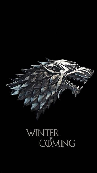 Thrones Stark Wolf Wallpapers Iphone Tattoo Got
