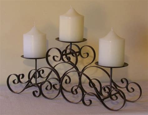 wrought iron candle holders wrought iron furniture and accessories home designs project