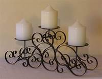 wrought iron candle holder Wrought Iron Furniture and Accessories | Home Designs Project