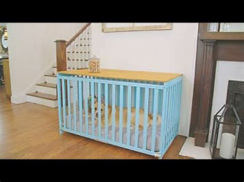 turn  crib   dog crate diy network youtube