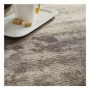 tapis en viscose gris harold home spirit 170x230 With tapis en viscose