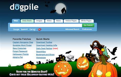 halloween  logos googles scooby doo google yahoo