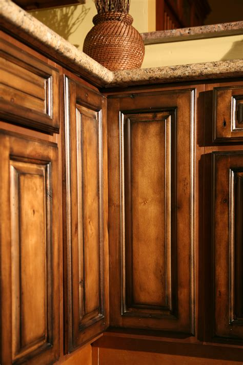 rustic wood kitchen cabinets pecan maple glaze kitchen cabinets rustic finish sle