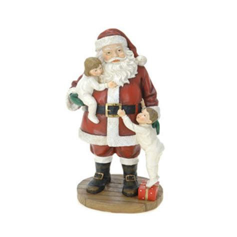 outdoor resin wholesale large santa claus christmas