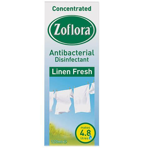 Zoflora Antibacterial Disinfectant 120ml   Bleach, Cleaning