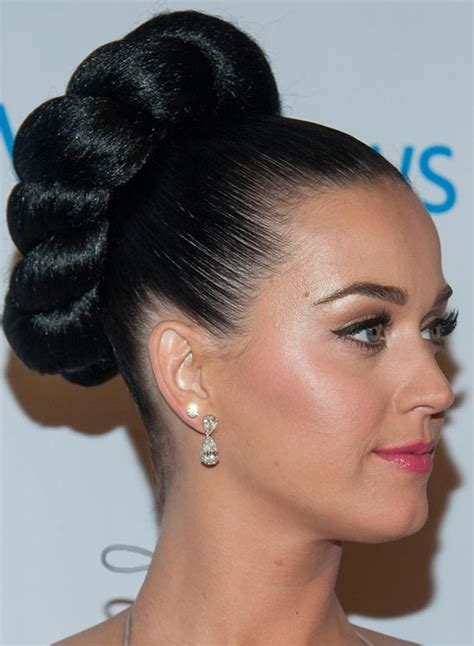 high hair bun styles high bun hairstyle black hair hair 4396