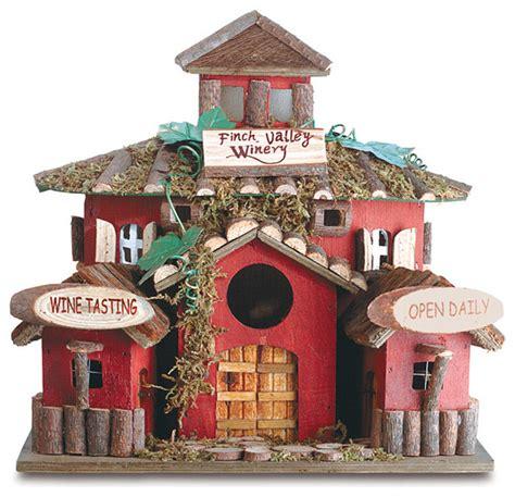 koehler home decor wood bird house finch valley winery