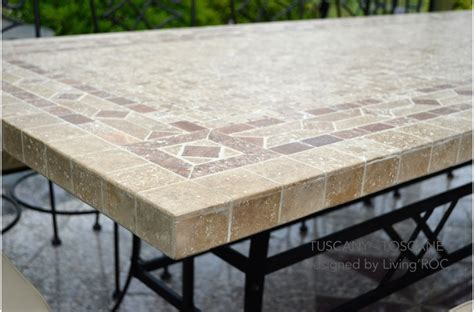 mosaic outdoor dining table 160 200 240cm italian mosaic marble outdoor patio table