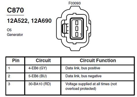 alternator regulator wiring ford focus forum ford