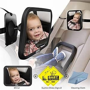 Auto Für Baby : cooodi auto baby spiegel einstellbare f r r cksitz ~ Jslefanu.com Haus und Dekorationen