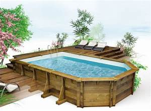 amenagement piscine hors sol 01 With terrasse en bois pour piscine hors sol 4 piscine hors sol piscine en bois mon amenagement jardin