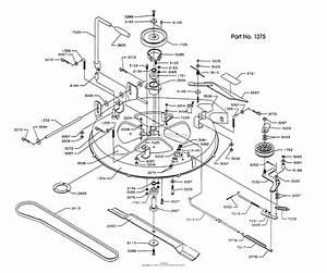 Dixon Ztr 304  1992  Parts Diagram For Mower Deck Assembly