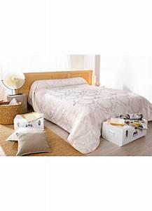 jete de lit quotsan marcoquot brode ivoire et blanc beige With tapis chambre bébé avec jete de lit fleuri