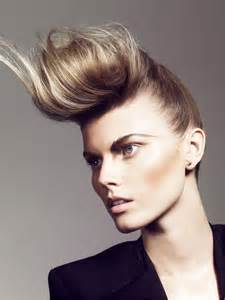 Woman Pompadour Hairstyles