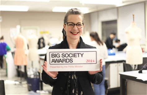 London College Of Fashion Wins Prime Minister's Big Society Award  Press Releases Govuk