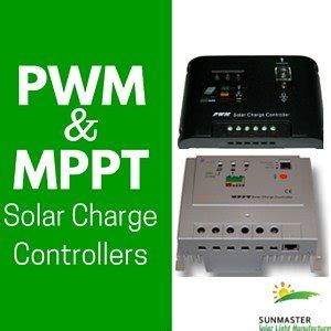 What Difference Between Pwm Mppt Solar Charge