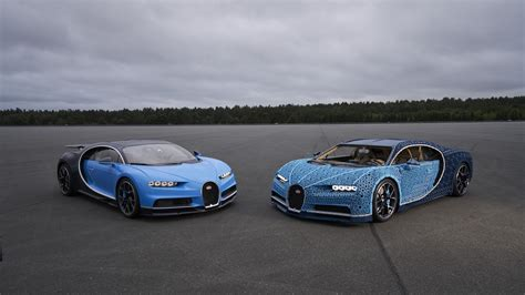 It's not anywhere near as fast as a real chiron, of course — the lego car's top speed is 20kph — but that's not bad considering lego didn't drop in a. Lego Creates Driveable Life-Size Bugatti Chiron   autoTRADER.ca