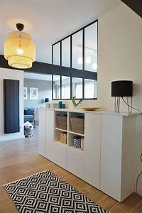 Verrière Intérieure Ikea : la s paration de pi ce en 83 photos inspiratrices ~ Melissatoandfro.com Idées de Décoration