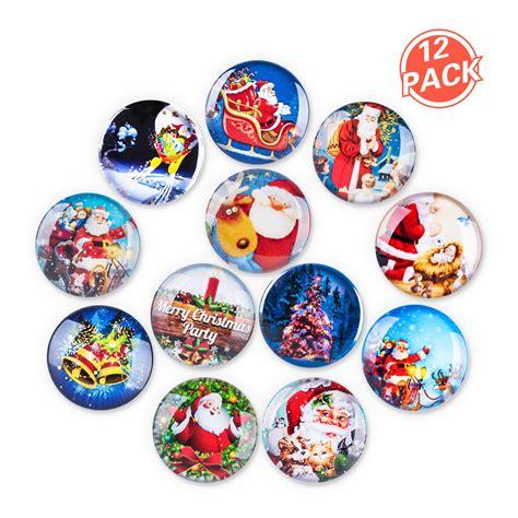 decorative refrigerator magnets magnets lesfit 12 pack 3d decorative glass