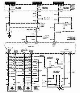 Acura Rl  2003 - 2004  - Wiring Diagrams - Transmission Controls
