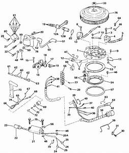 Johnson Ignition System Parts For 1986 40hp J40elcde