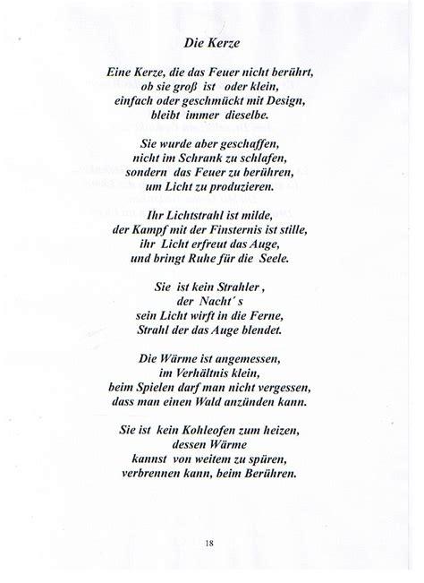 Gedicht Kerze Licht by My Inspirierend Gedicht Kerze Und Fotohalter