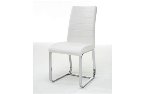 chaise de salle a manger blanche
