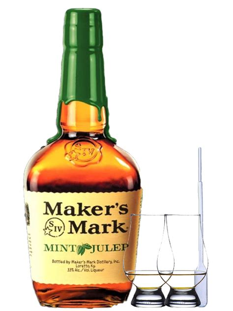 makers mark mint julep bourbon whiskey  liter