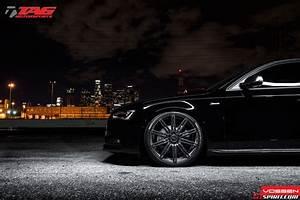 2013 Audi A4 On 20 Inch Vossen Cv4 Wheels