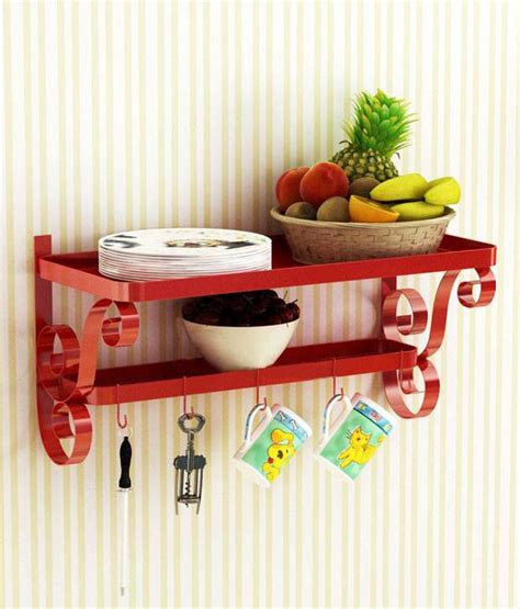 home sparkle cup plate rack wall hanging buy home sparkle