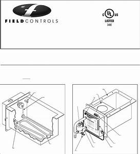 Field Controls Humidifier S2000 User Guide