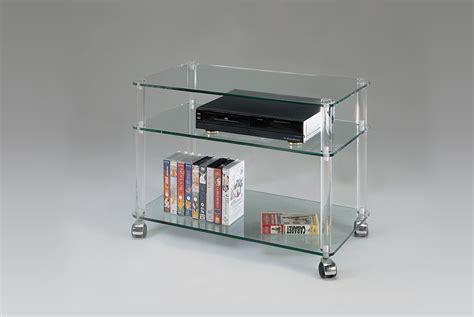 meuble bureau en verre meuble tv en verre et plexiglas