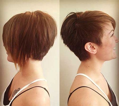 Inverted Pixie Hairstyles by Shaggy Inverted Bob Hairstyle Pictures