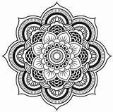 Kaleidoscope Coloring Printable sketch template