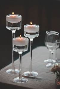 Tiered Floating Candle Holder Set » Queenstown Wedding Hire