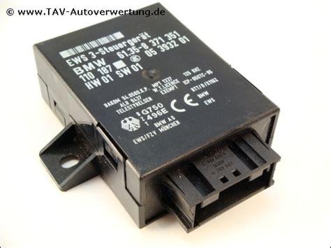 Ews 3 Control Unit Bmw 61358371351 Lk 05393201 110