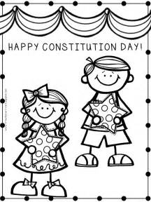 Kindergarten Constitution Day Coloring Pages