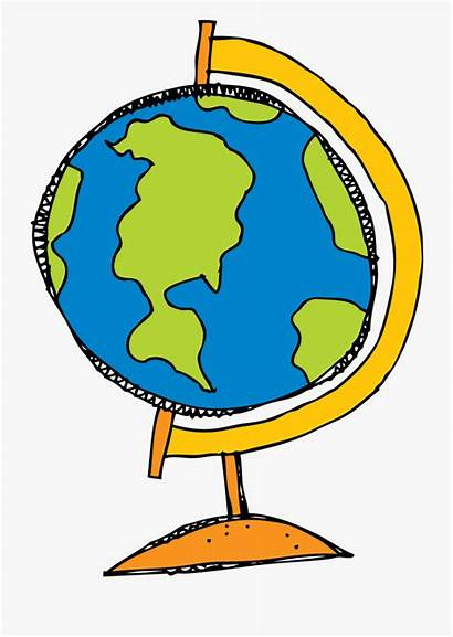 Globe Clipart Stand Clip Tree Transparent Drawing