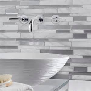 decorative wall tiles kitchen backsplash smart tiles 11 55 in w x 9 65 in h peel and stick decorative mosaic wall tile