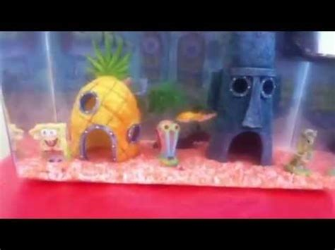 Spongebob Fish Tank Decor Set by Best Spongebob Square Aquarium And Accessories