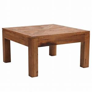 Homeofficedecoration wood coffee table square for Wood square coffee table