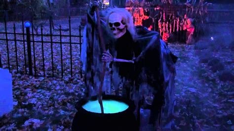 halloween yard display  youtube