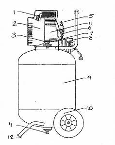 Craftsman Model 875195510 Air Compressor Genuine Parts