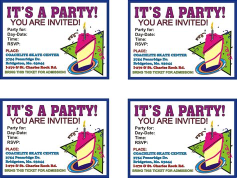 invitations to print free free printable party invitations templates theruntime com