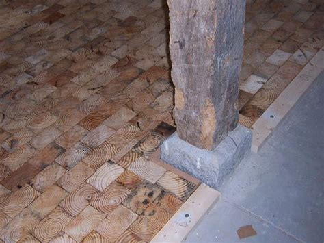 block flooring wood 61 best images about wood block wood brick flooring on pinterest wood kitchen countertops