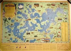 Lake Minnetonka Maps - The Great Frame Up :: Minnetonka