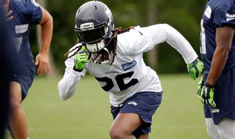 seahawks ota takeaways shaquill griffin ready  bigger