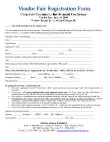 Sample Vendor Registration Form