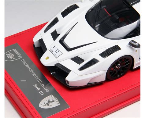 When you put it in the hands of gemballa though, there's really only one outcome you can expect: Ferrari Enzo Gemballa MIG-U1 - Limited Edition by Gemballa 1/18