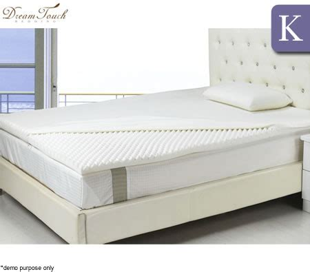 egg crate mattress topper dreamtouch memory foam mattress topper egg crate king